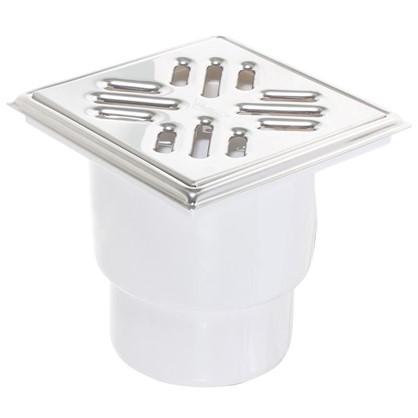 Купить Трап для душа 150х150 мм вертикальный слив нержавеющая сталь дешевле