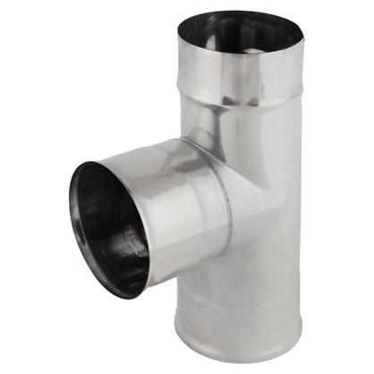 Купить Тройник 90° 0.8x120 мм зеркальная нержавеющая сталь дешевле