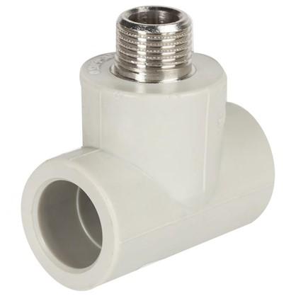 Купить Тройник комбинированный FV-Plast наружная резьба 25х1/2 мм полипропилен дешевле