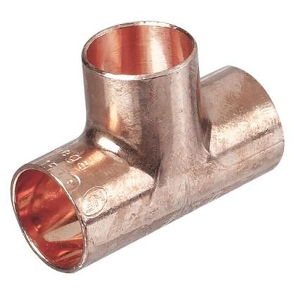 Купить Тройник Viega 15 мм внутреннее-внутреннее-внутренее соединение медь дешевле