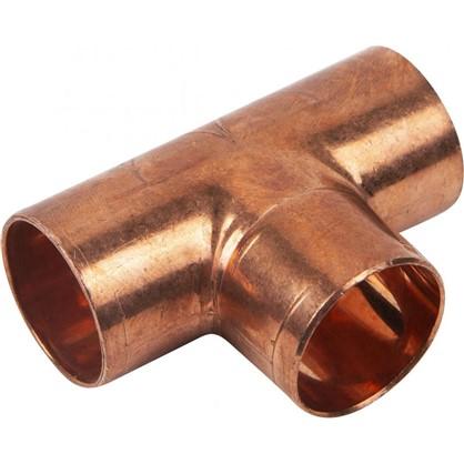 Тройник Viega 22х22х22 мм наружное-наружное-наружное соединение медь