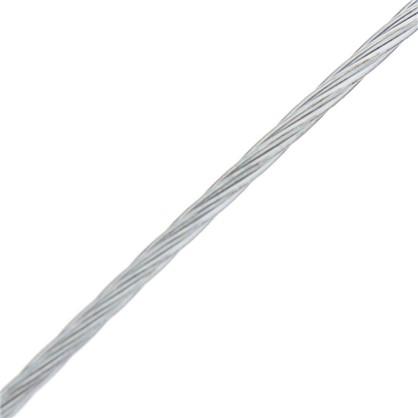 Трос DIN 3055 1 мм 50 м сталь цвет цинк