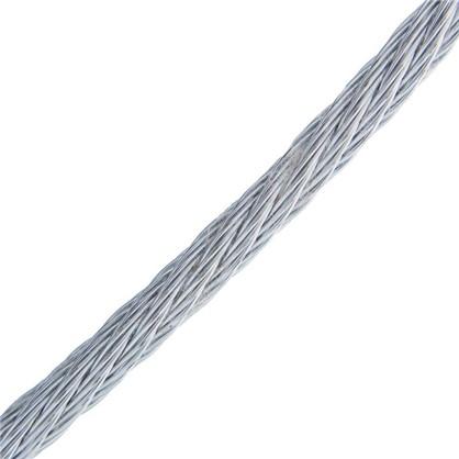 Трос DIN 3055 3 мм 5 м сталь цвет цинк