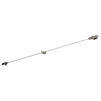 Купить Трос с натяжным механизмом 3.5 м цвет хром дешевле