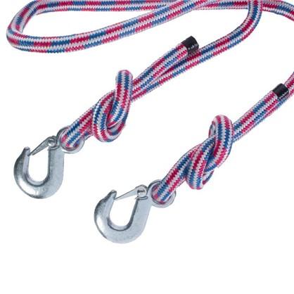 Трос верёвочный №1 2 крюка 5 м 5 т