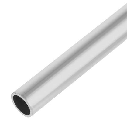 Купить Труба 18x18x2000х18 мм алюминий цвет серебристо-белый дешевле