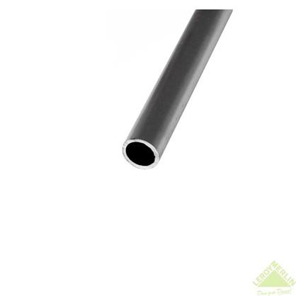 Труба 28x28x2000х28 мм алюминий цвет серебристо-белый