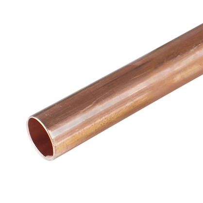 Труба d 15 мм L 2.5 м неотоженная медь