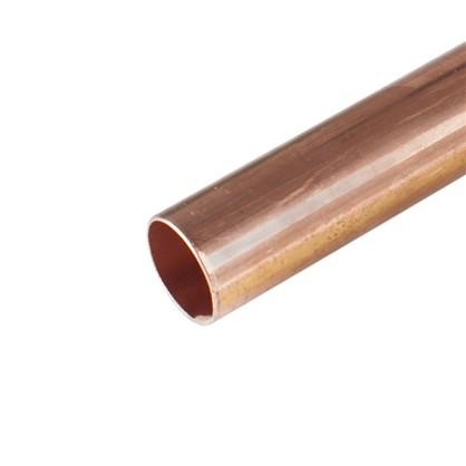 Труба d 22 мм L 2.5 м неотожженная медь