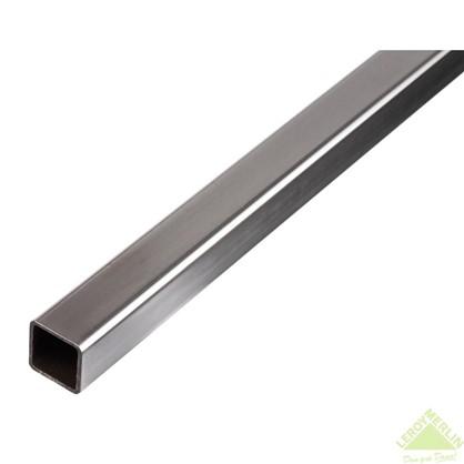 Купить Труба Gah Alberts квадратная 16x16x1x2000 мм сталь цвет серый дешевле