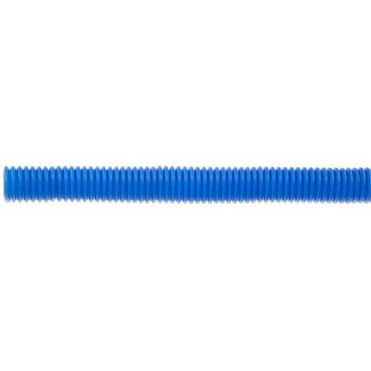 Труба гофрированная d 25 мм 50 м цвет синий