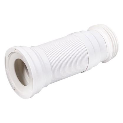 Труба гофрированная для унитаза армированная Equation L 290-680 мм