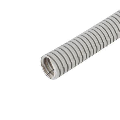 Купить Труба гофрированная Экопласт ПВХ с зондом D32 мм 25 м дешевле