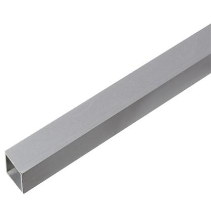 Труба квадратная 20х20х2000х1.5 мм алюминий цвет серебро