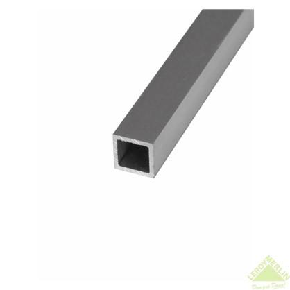 Труба квадратная 25х25х1000х25 мм алюминий цвет серебро