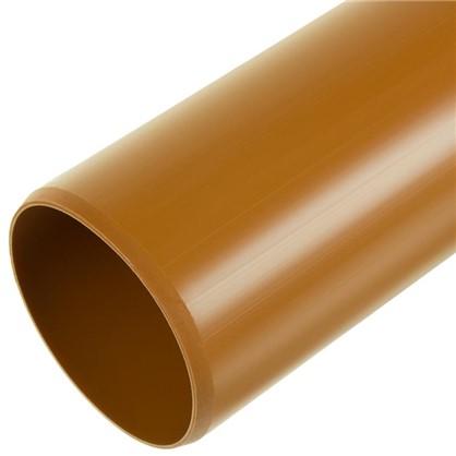 Купить Труба раструбная наружная 110х2000 мм дешевле