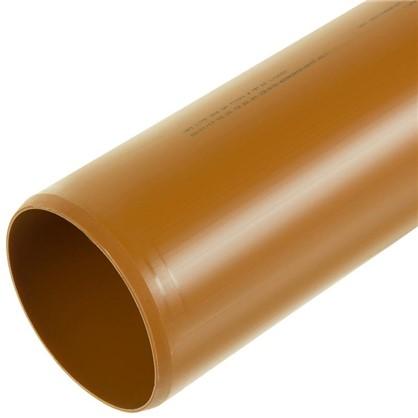 Купить Труба раструбная наружная 110х3000 мм дешевле