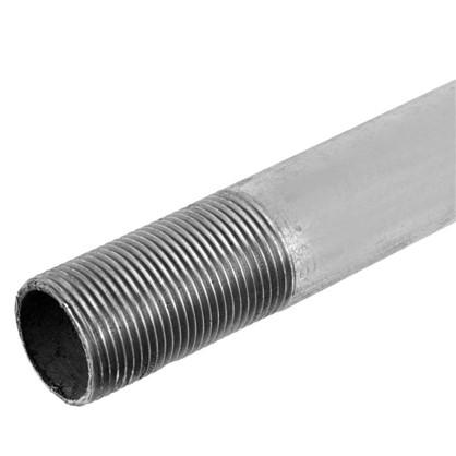Труба с наружной резьбой d 25 мм L 2 м оцинкованный сталь