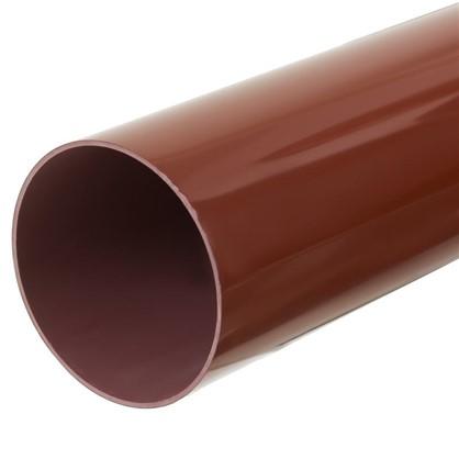 Купить Труба водосточная 2000х90 мм цвет красный дешевле