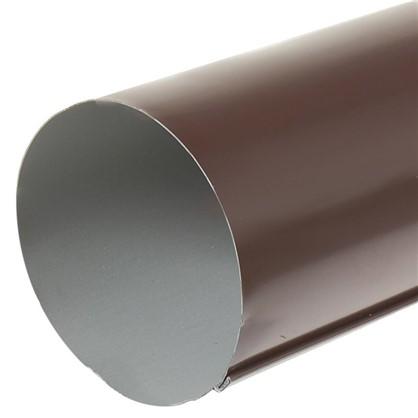 Купить Труба водосточная 3000х90 мм цвет коричневый дешевле