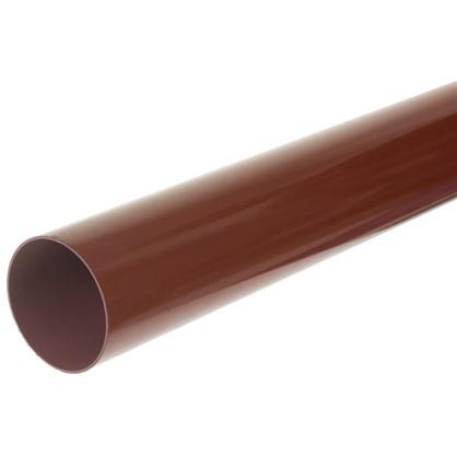 Труба водосточная 3000х90 мм цвет красный