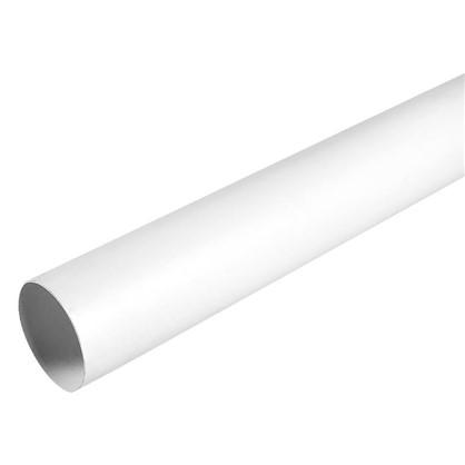 Труба водосточная 80x3000 мм цвет белый