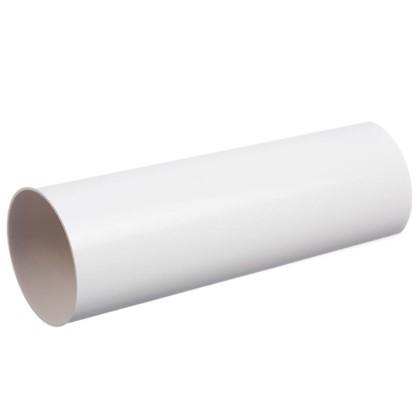 Труба водосточная Dacha 80 мм 1 м цвет белый