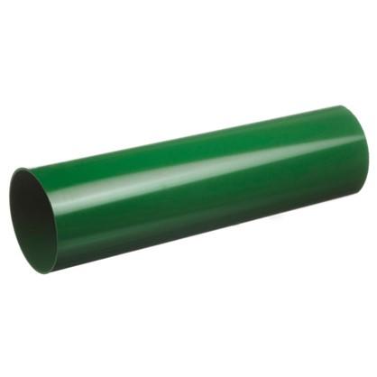 Труба водосточная Dacha 80 мм 1 м цвет зелёный