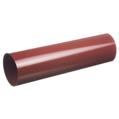 Купить Труба водосточная Dacha 80 мм 3 м цвет красный дешевле