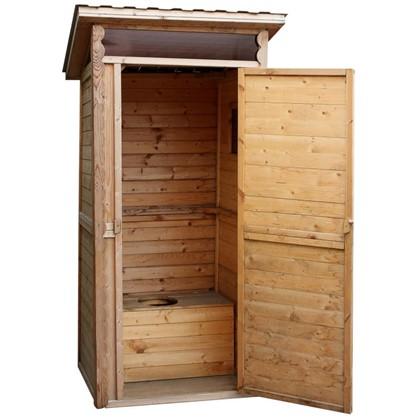 Купить Туалет садовый 1х1 м дешевле