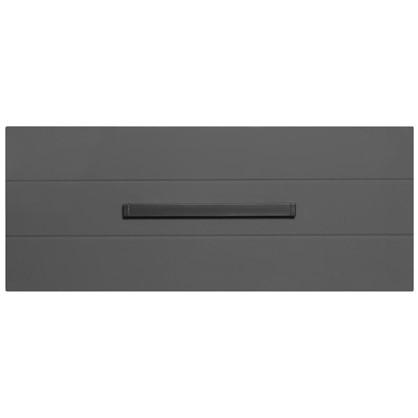 Тумба навесная  Авангард 80 см цвет серый сер