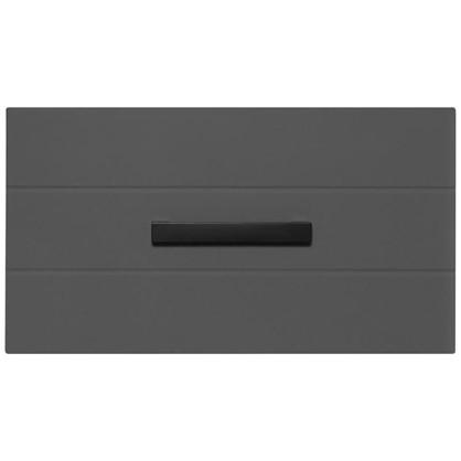 Тумба подвесная Авангард 60 см цвет серый