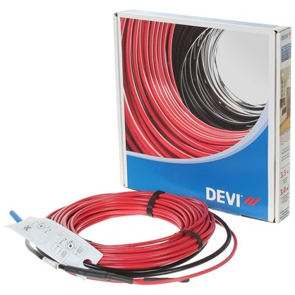 Теплый пол кабельный Devi 555 Вт 28 м