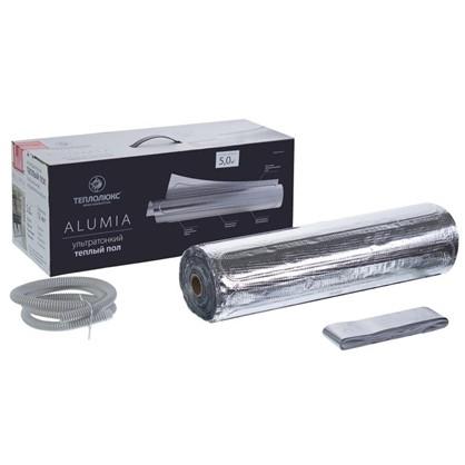 Купить Теплый пол (нагревательный мат на фольге) Теплолюкс Alumia 5 кв.м 750Вт дешевле