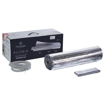 Купить Теплый пол (нагревательный мат на фольге) Теплолюкс Alumia 6 кв.м 900Вт дешевле