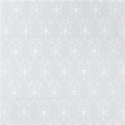 Тюль 1 п/м Адель вышивка 280 см цвет экрю