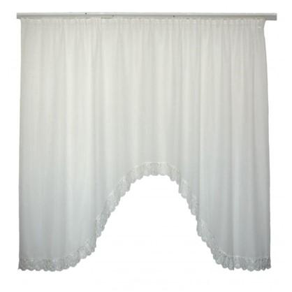 Тюль-арка на ленте Harmony 250х180 см цвет экрю