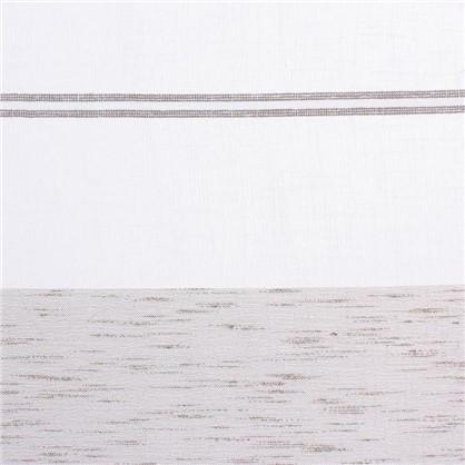 Тюль Купон велюр 280 см цвет серый