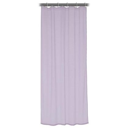Тюль на ленте 140x260 см органза цвет фиолетовый