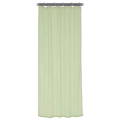 Купить Тюль на ленте 140x260 см органза цвет зеленый дешевле