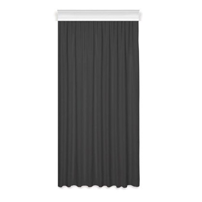Тюль на ленте 250х260 см вуаль цвет черный