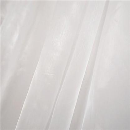 Тюль на ленте 290х300 см органза цвет белый