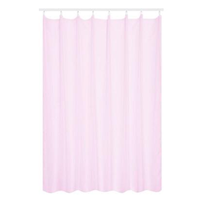 Тюль на ленте 300х280 см вуаль цвет розовый