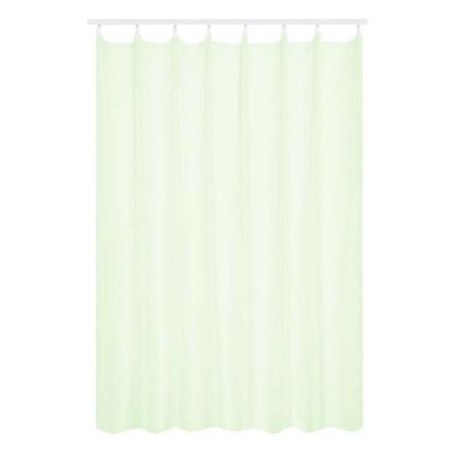 Тюль на ленте 300х280 см вуаль цвет зеленый