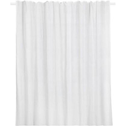 Купить Тюль на ленте Boho 300x280 см цвет белый дешевле