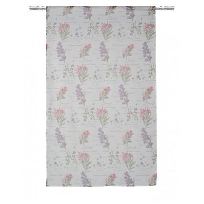 Тюль на ленте Gympie 160х260 см вуаль цвет лиловый