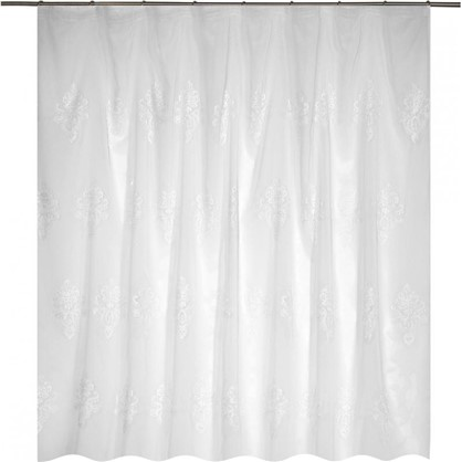 Тюль на ленте Инсбрук 300x280 см цвет белый
