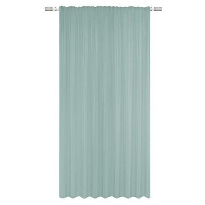 Тюль на ленте Inspire Таити 300х260 см цвет голубой