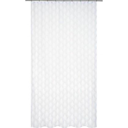 Тюль на ленте Карлин Сканди 250х260 см цвет серый