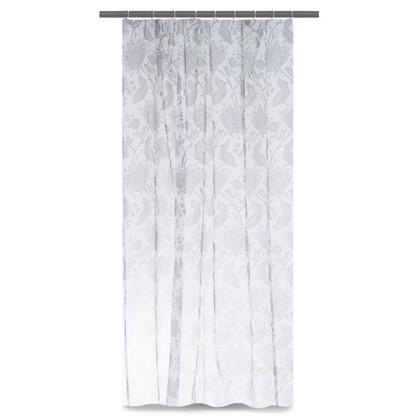 Тюль на ленте Королевский цветок 300х260 см цвет белый